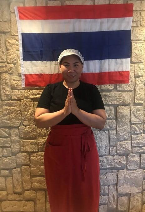Kock på Restaurang Khao Tip Thai, thaimat på hisingen