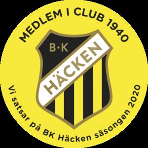 Club 1940 – Khao Tip Thai stöttar BK häcken Säsongen 2020